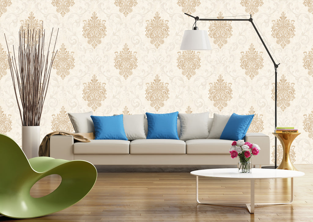 Flower Royal Pattern Wallpaper Roll - astore.in
