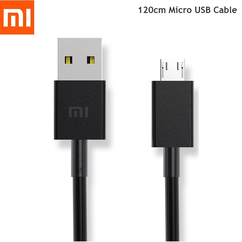 100% Original Xiaomi Micro USB Cable 120CM Fast Charge - astore.in