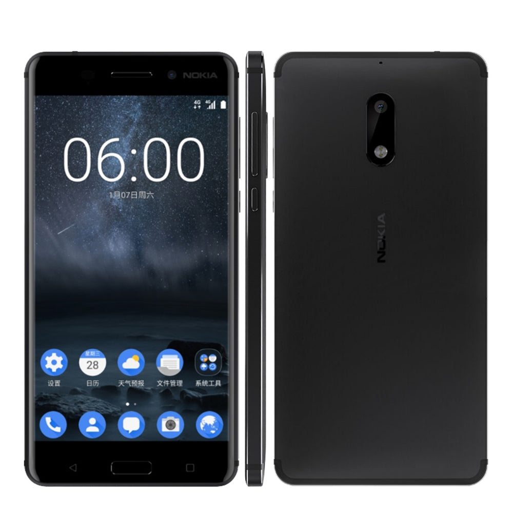 Original Nokia 6 Android Smartphone 4GB RAM 64GB ROM - astore.in