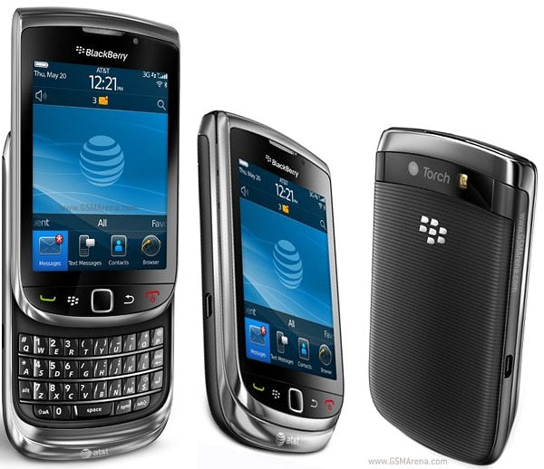 BlackBerry Torch 9800 Slide Phone QWERTY - astore.in
