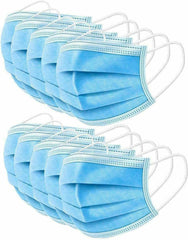 3 Ply/Layer dustproof protective breathable disposable facemask