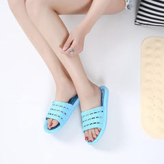 Yokai Hollowed-out Slippers Men Women Indoor Outtdoor Comfy Slippers - brandyokai