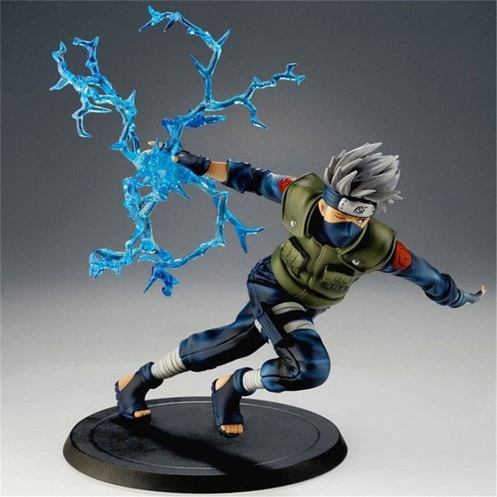 Naruto Kakashi Sasuke PVC Anime Action Figure - astore.in