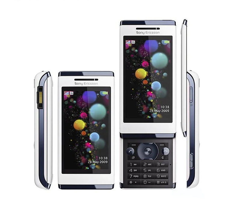 8Original Sony Ericsson Aino u10 Slide Phone 3G 8.1MP WIFI GPS - astore.in