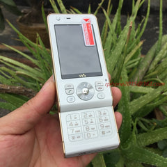 Original Sony Ericsson W910i Slide Phone White - astore.in