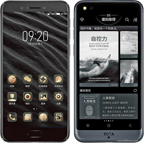 Original Yotaphone 3 E-Ink Display Mobile Phone Snapdragon 4GB RAM 128GB ROM