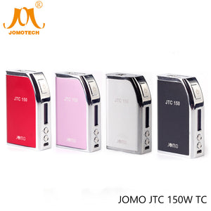 2017 JomoTech JTC 150W TC Mod Built-in Battery 4400mAh OLCD 150W Vape Mod Electronic Cigarette Mod fit TFV12 Atomizer Jomo-102