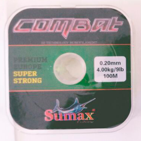 HILO COMBAT SUPER STRONG 0.20 MM. X 100 MTS.
