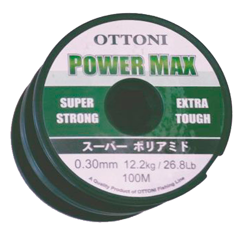 HILO OTTONI POWER MAX 0.30 MM. X 100 MTS.
