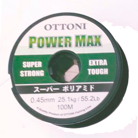 HILO OTTONI POWER MAX 0.45 MM. X 100 MTS.