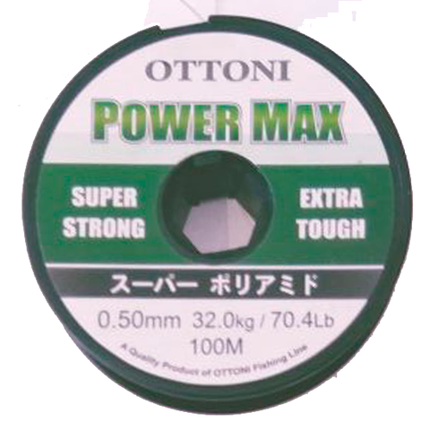 HILO OTTONI POWER MAX 0.50 MM. X 100 MTS.