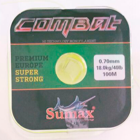 HILO COMBAT SUPER STRONG 0.70 MM. X 100 MTS.