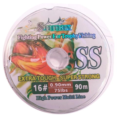 HILO SUMAX SUPER STRONG 0.90 MM. X 100 MTS.