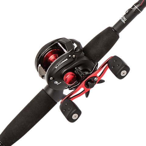 KIT ABU GARCIA BLACK MAX REEL Y CAÑA 1,95 MTS.