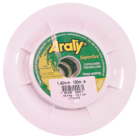 HILO ARATY SUPERFLEX 1.40 MM. X 100 MTS.
