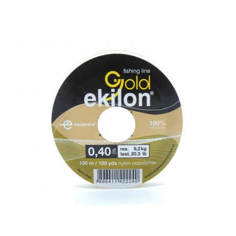 HILO EKILON GOLD 0.40 MM. X 100 MTS.