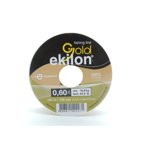 HILO EKILON GOLD 0.60 MM. X 100 MTS.