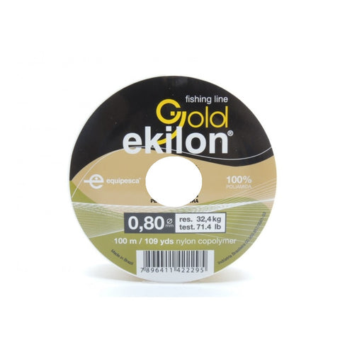 HILO EKILON GOLD 0.80 MM. X 100 MTS.