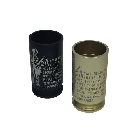 2A SECOND AMENDMENT  - Brass Shots Shot Glass