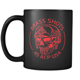 Brass Shots Coffee Mug 11oz