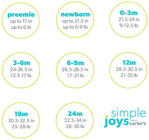 ... Simple Joys by Carter s Girls Baby 5-Pack Long-Sleeve Bodysuit 50600a0ef