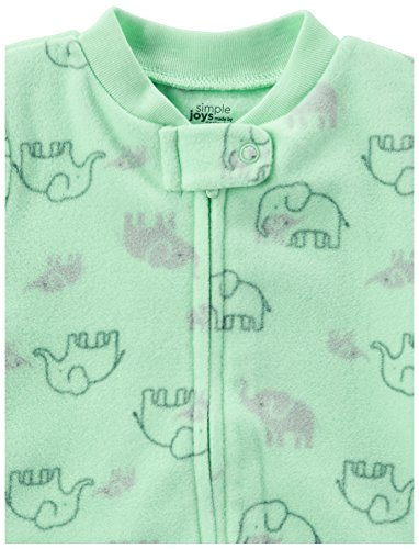 d3802d315 Simple Joys by Carter s Baby 2-Pack Fleece Footed Sleep and Play ...