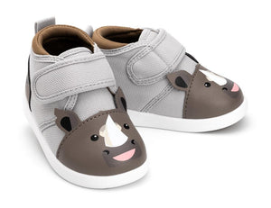 Rafiq Rumble™ Shoes ikiki® Shoes Size 4 Grey