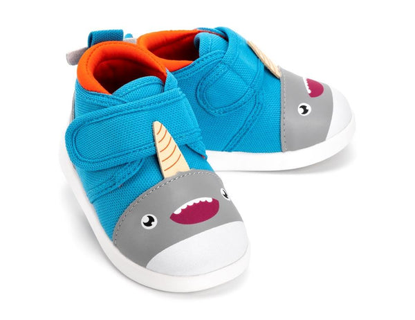 Sascha Narwhalski™ Shoes ikiki® Shoes Size 5 Blue