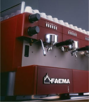 red front of FAEMATRONIC Coffee Machine