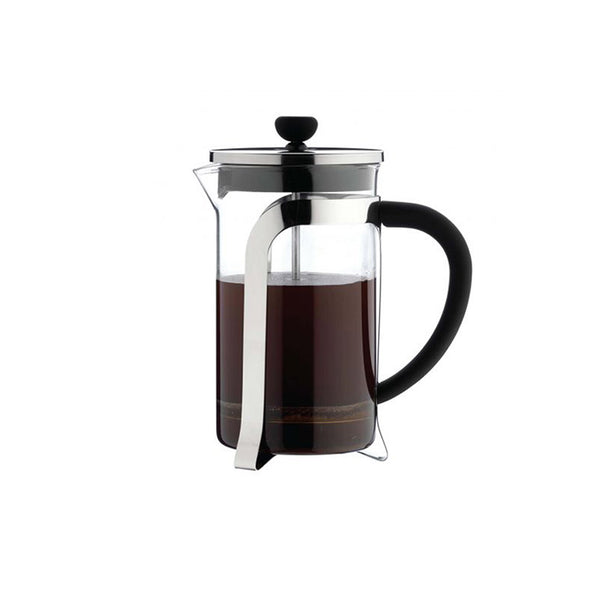 6 Cup Glass And Chrome Cafetiere Cafe Ole