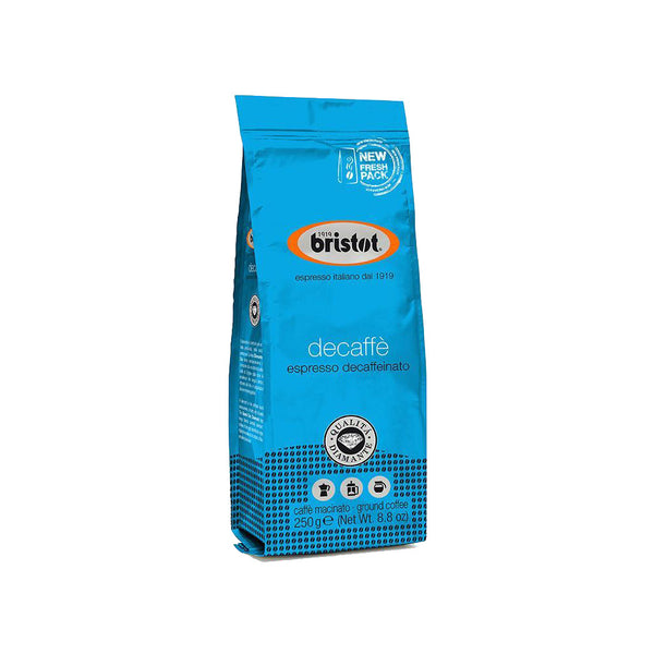 Bristot Decaffeinated Ground Coffee 250g