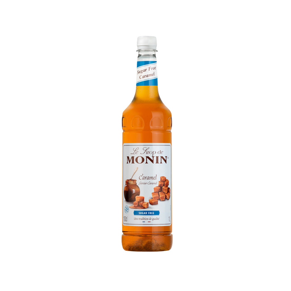 Monin Sugar Free Caramel Syrup 1 Litre Coffee Ie