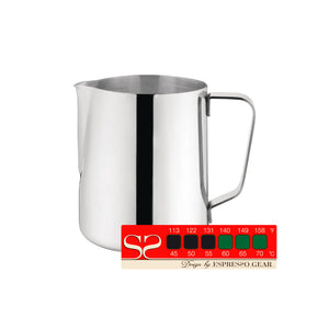 600ml Milk Pitcher and Thermometer Strip Attento
