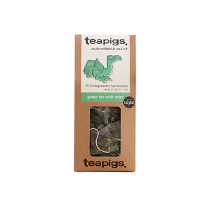 Teapigs Green Tea With Mint Ireland 15's