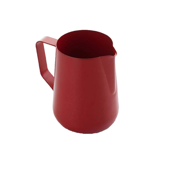 Red Milk Pitcher 600ml Teflon Coated