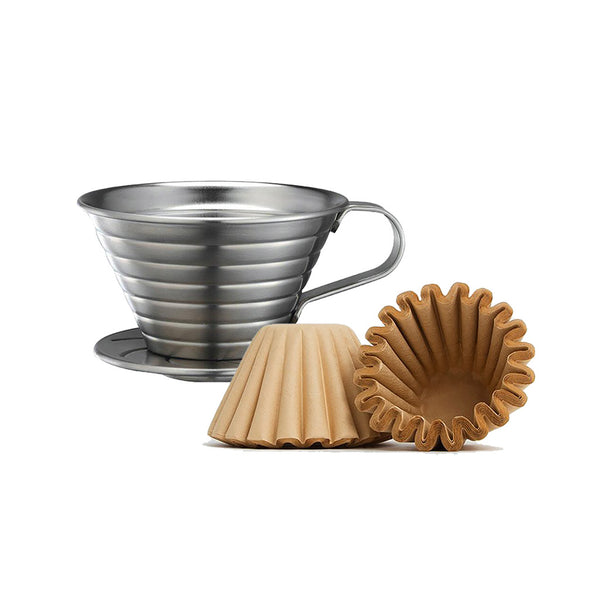Tiamo Stainless Steel Dripper plus Filters