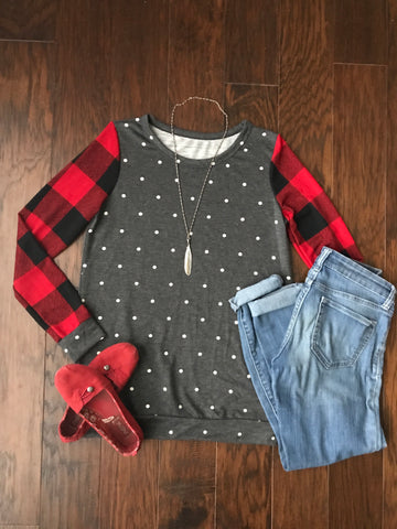 Polka Dots & Plaid