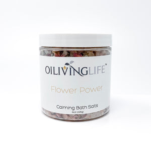 Flower Power Calming Bath Salts - OilivingLife
