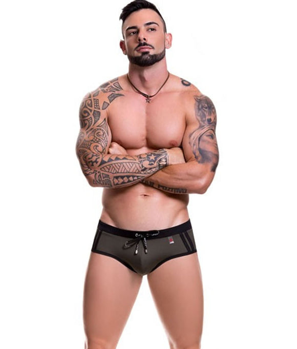 SPORT BRIEF SWIMWEAR GREEN
