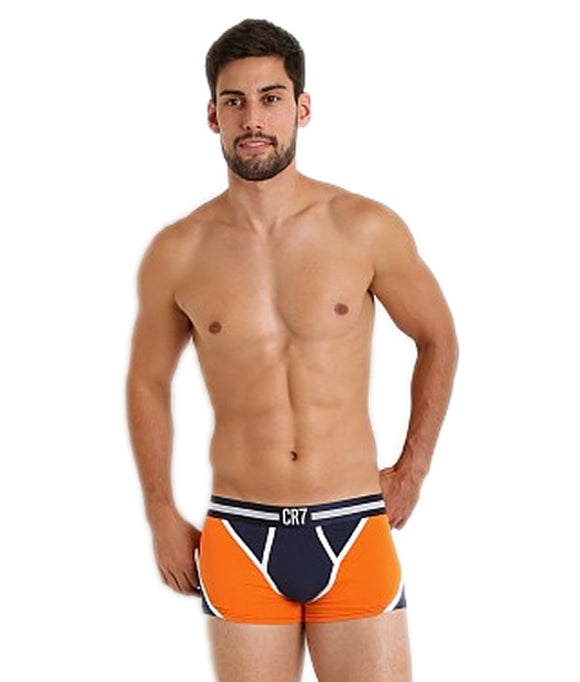 CR7 FASHION TRUNK BLACK/ORANGE