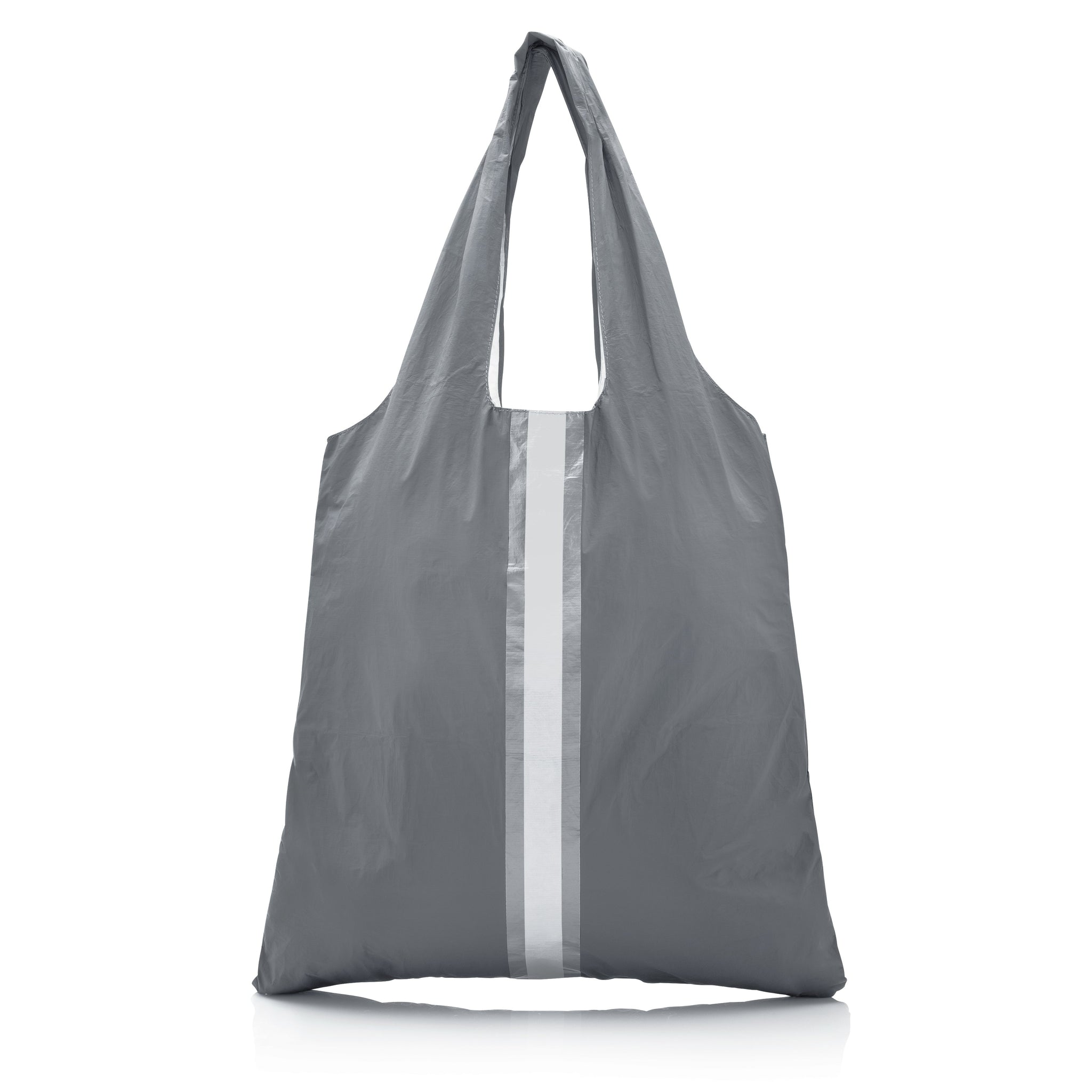 Carryall Tote - Cool Gray HLT Collection with a Double Metallic Line
