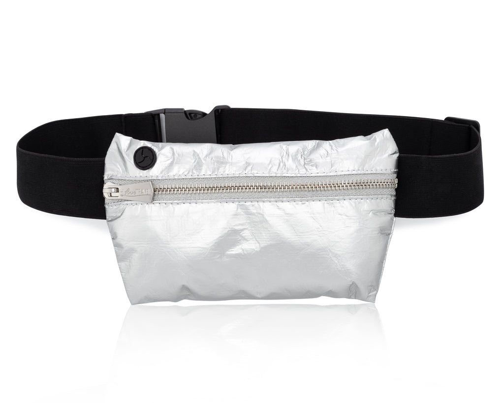 Invisible Pack - Metallic Silver II Fanny Pack