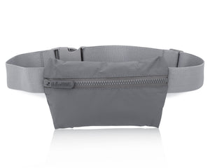 Cute Lightweight Hi Love Cool Gray Fanny Pack Splash Resistant