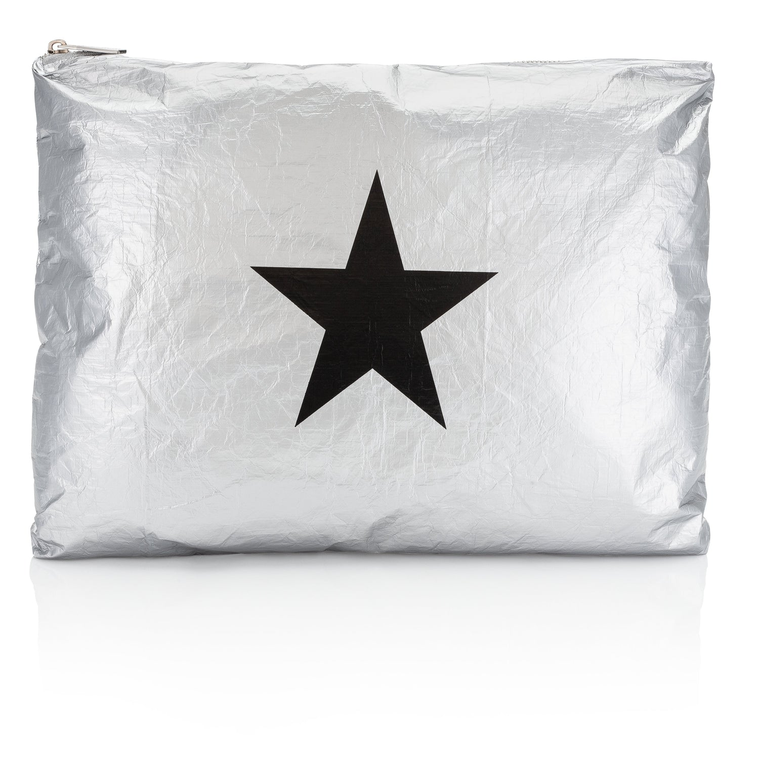 Jumbo Pack - Metallic Silver with a Black Star