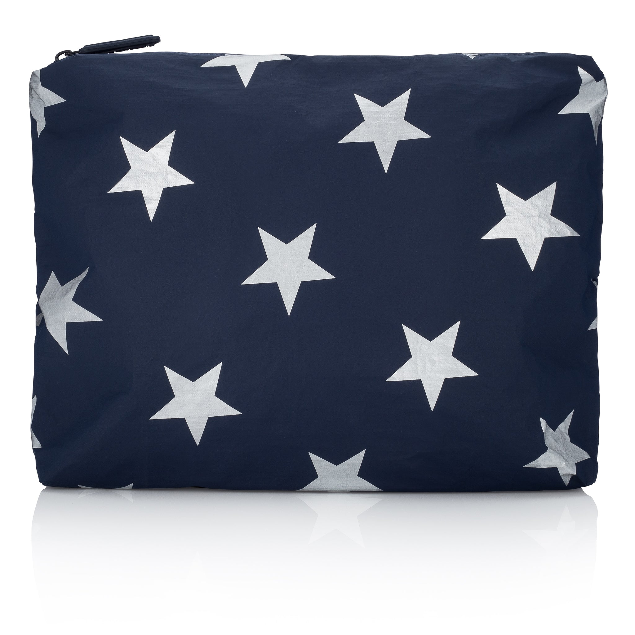 Medium Pack - Travel Pouch - Gym Bag - Navy HLT Collection with Silver Stars