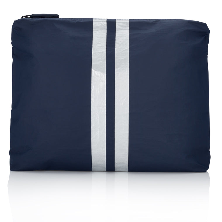 Medium Pack - Navy HLT Collection with Silver Lines