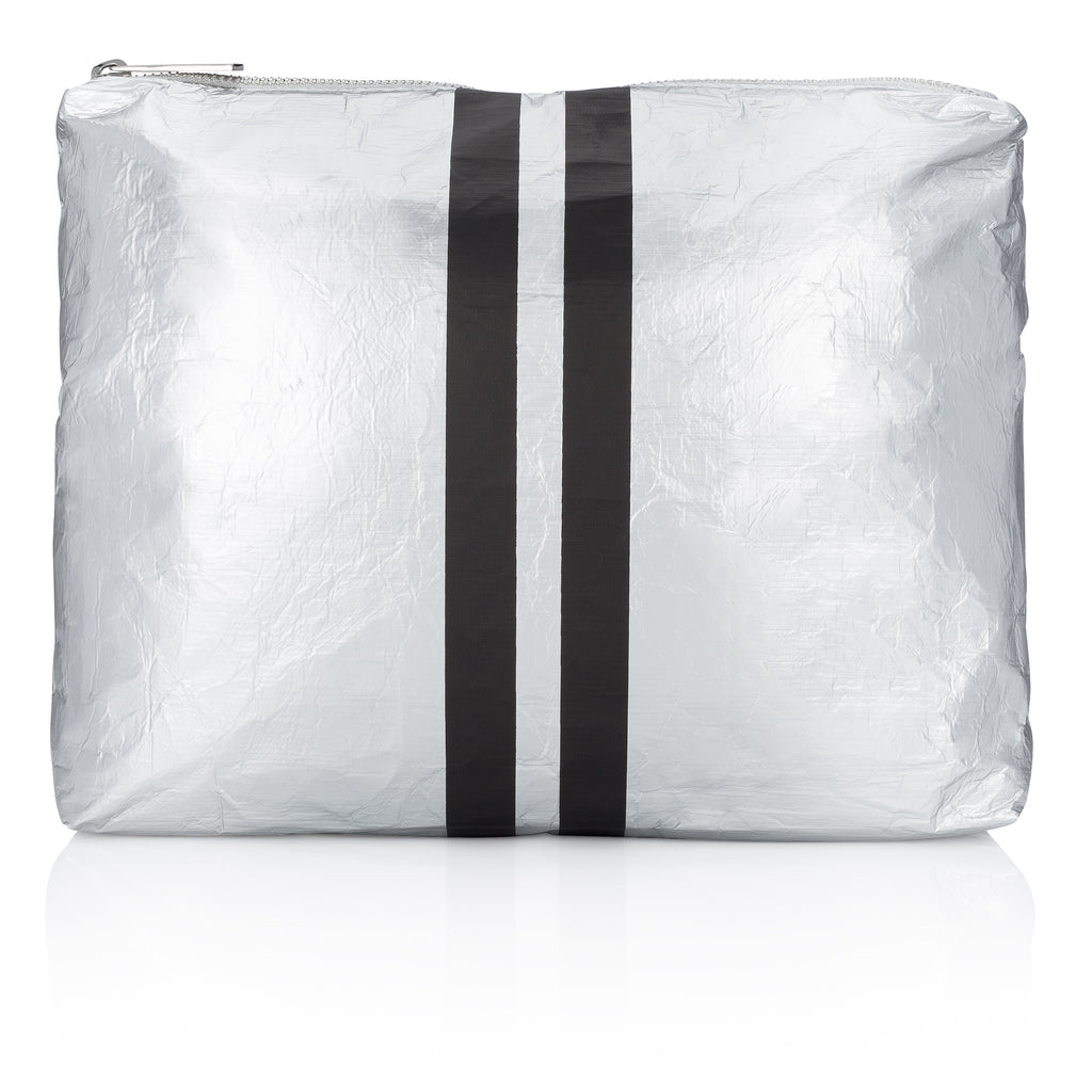 Medium Pack - Metallic Silver Collection with Black Lines