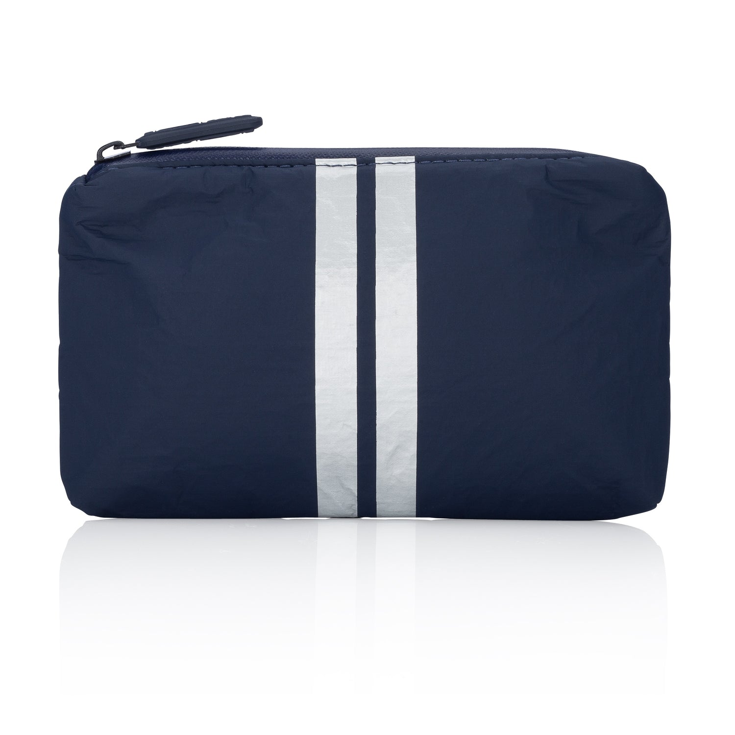 Mini Padded Pack - Navy HLT Collection with Metallic Silver Lines