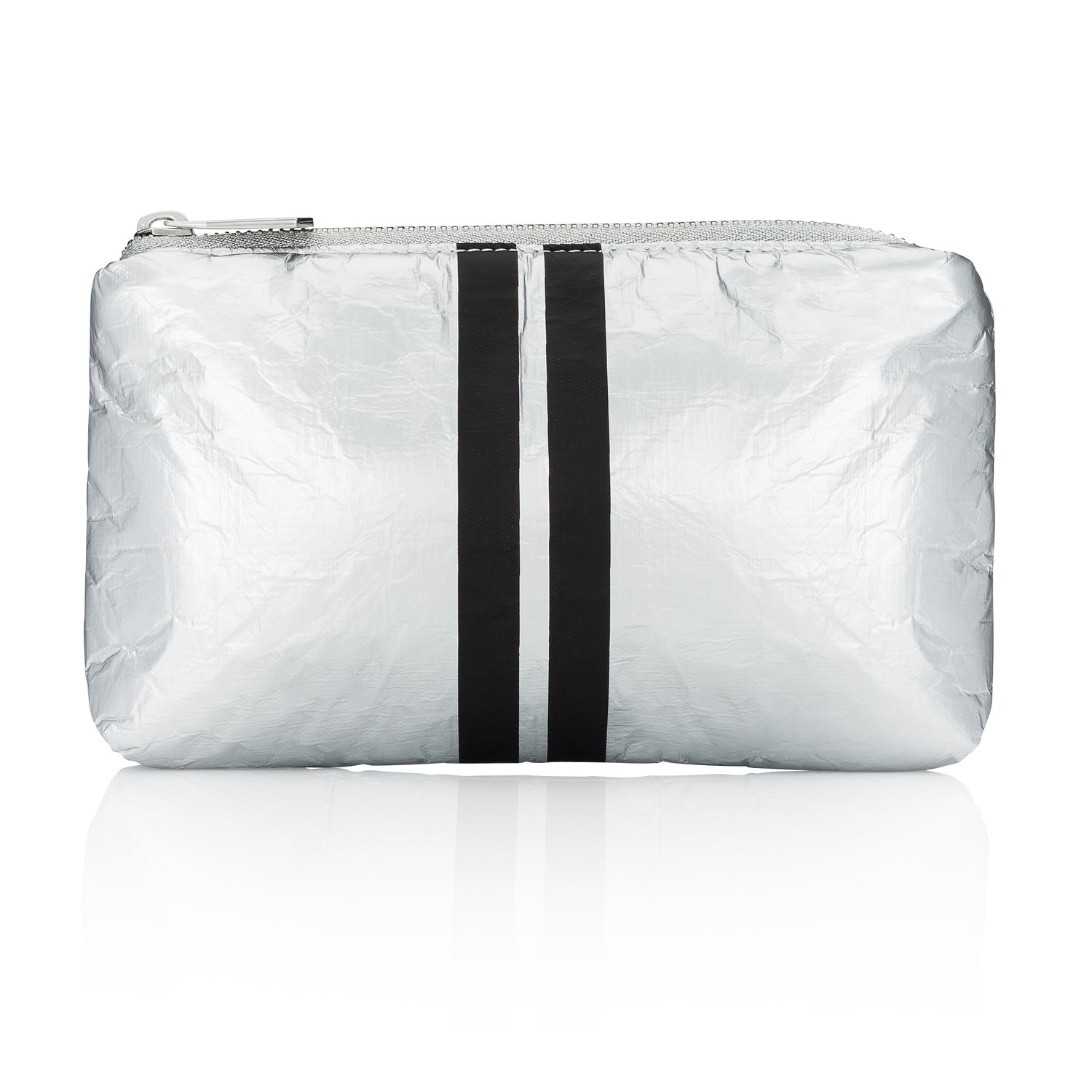 Mini Padded Pack - Metallic Silver Collection with Black Lines