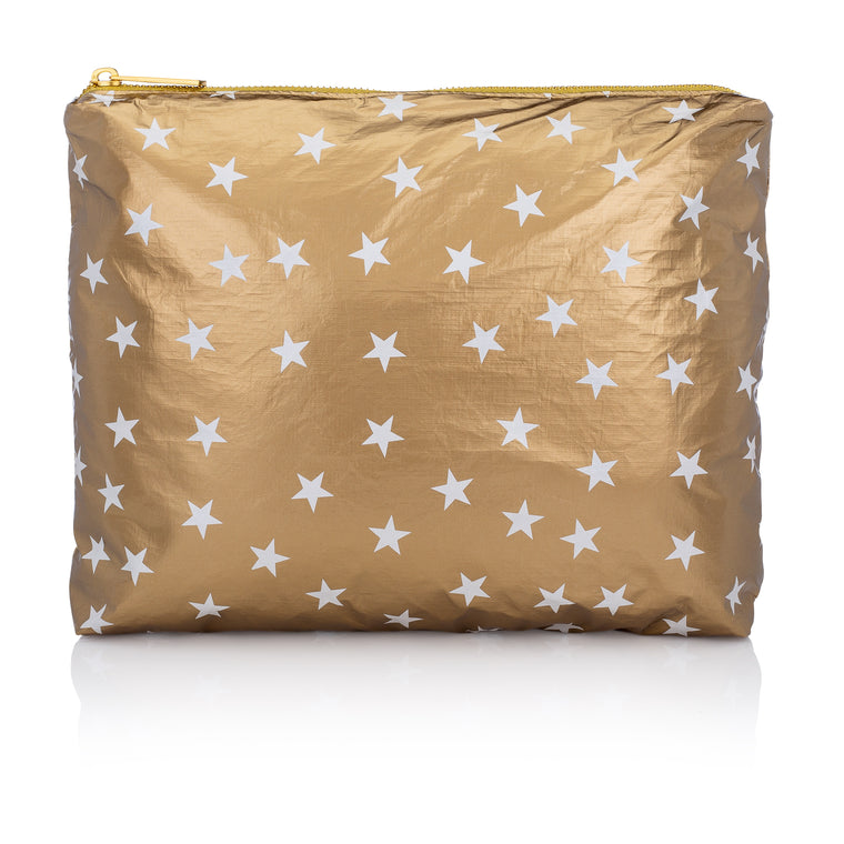 Medium pack- Metallic Gold HLT Collection with Myriad of White Stars